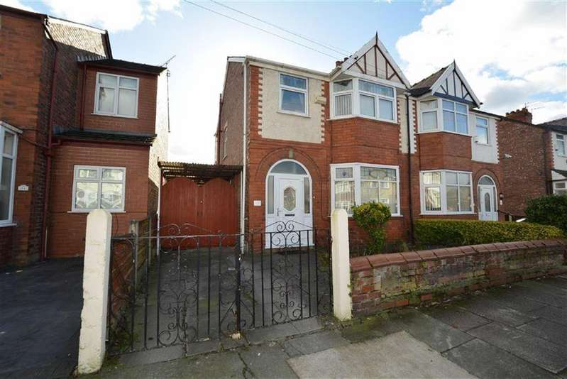 3 Bedrooms Semi Detached House for sale in Moss Park Road, STRETFORD