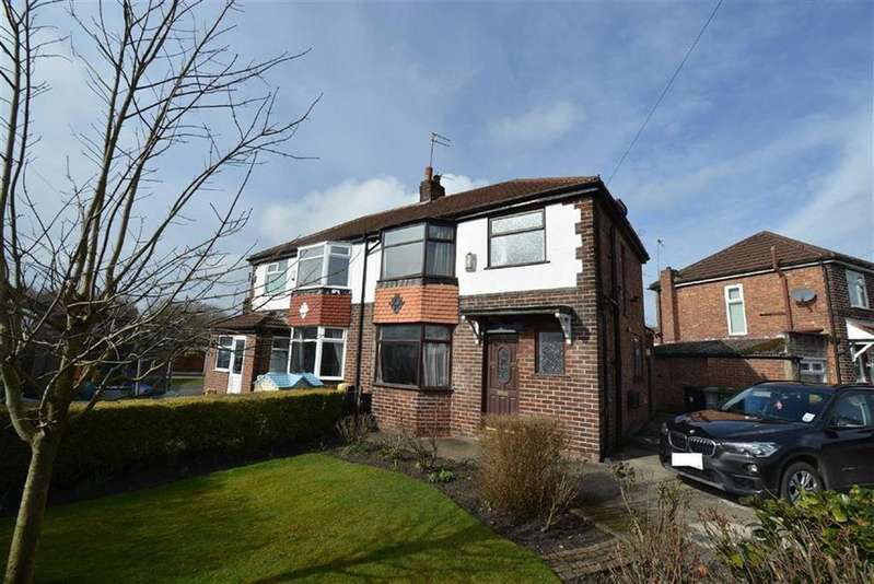 3 Bedrooms Semi Detached House for sale in Lansdowne Road, URMSTON, Manchester