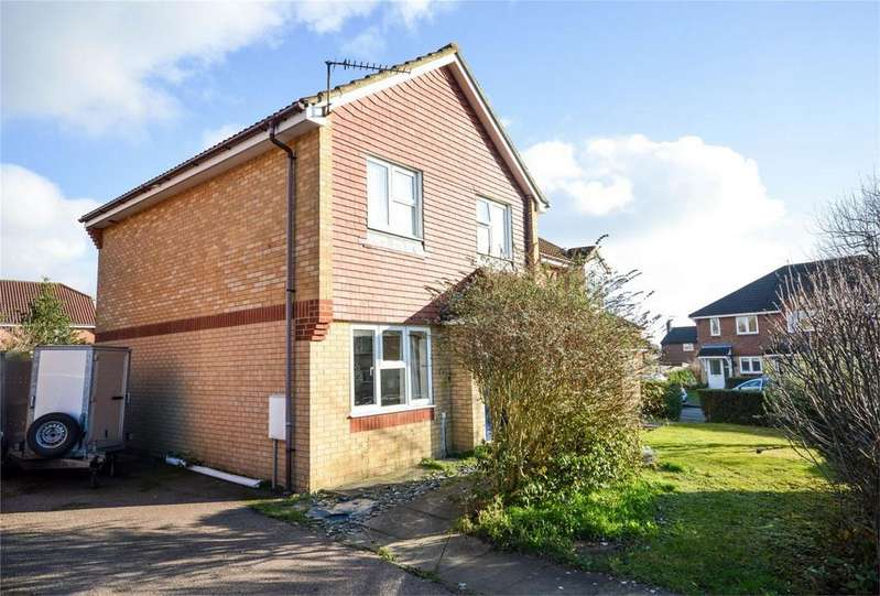 3 Bedrooms Semi Detached House for sale in The Meadows, Bishop's Stortford, Hertfordshire