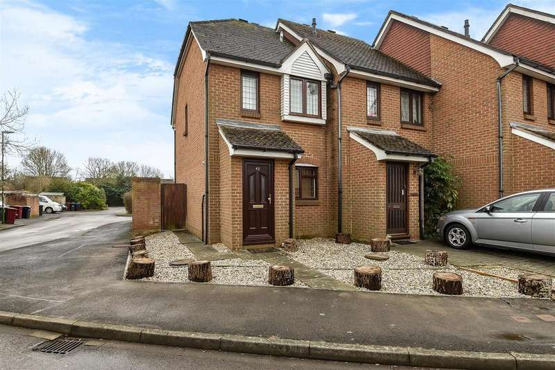 2 Bedrooms End Of Terrace House for sale in Mosse Gardens, Fishbourne