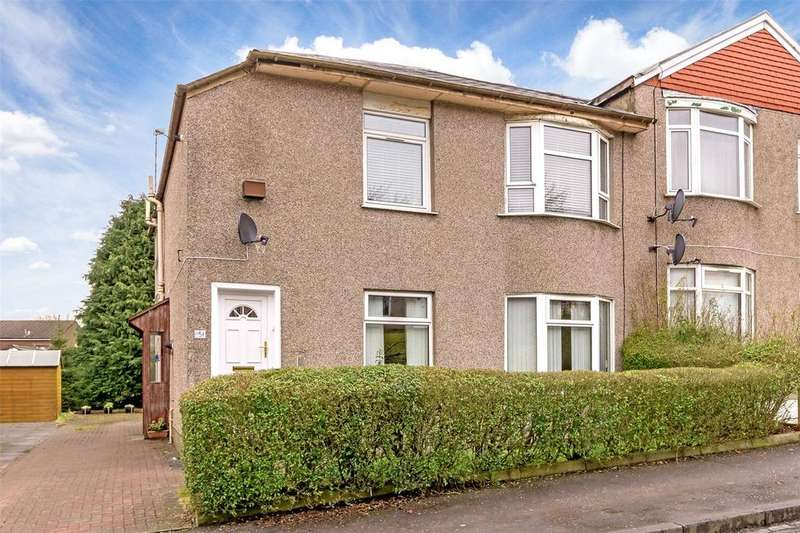 2 Bedrooms Flat for sale in 151 Curtis Avenue, Kings Park, Glasgow, G44