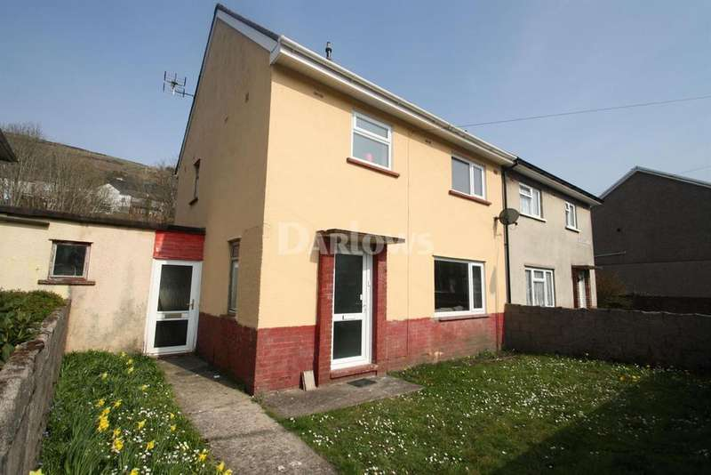 3 Bedrooms Semi Detached House for sale in Pontrhondda Avenue, Lllwynypia
