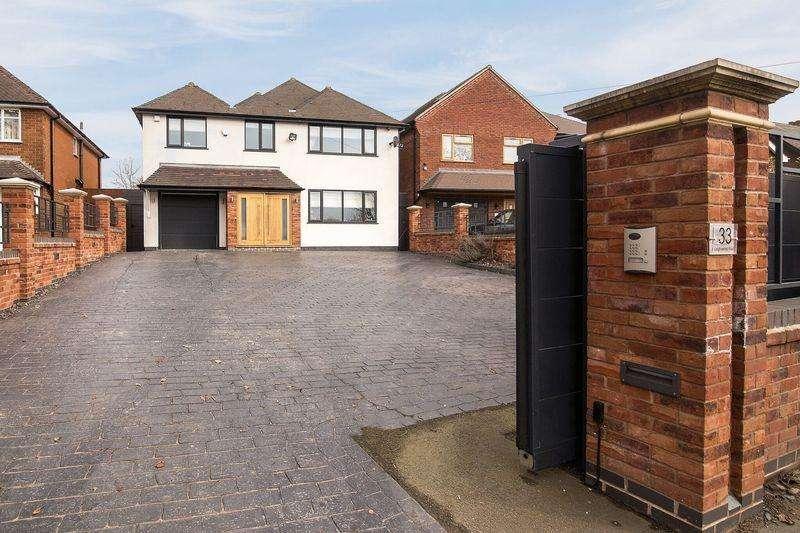 5 Bedrooms Detached House for sale in Leighswood Road, Aldridge