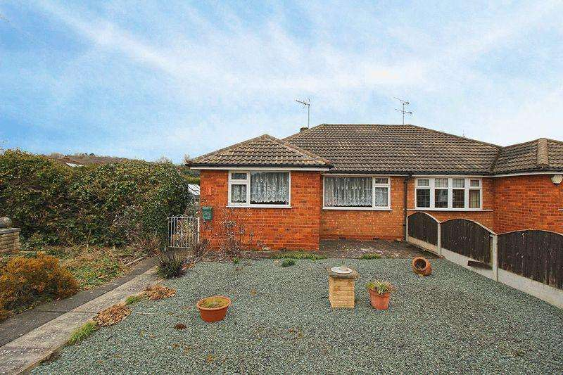 2 Bedrooms Semi Detached Bungalow for sale in Manor Drive, GORNAL WOOD