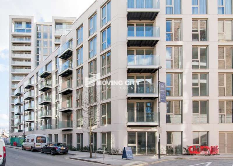 2 Bedrooms Apartment Flat for sale in Liner House, Royal Wharf, London, E16