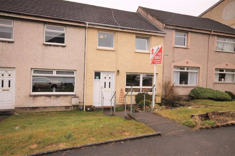 3 Bedrooms Terraced House for sale in Cornhill Drive, Coatbridge