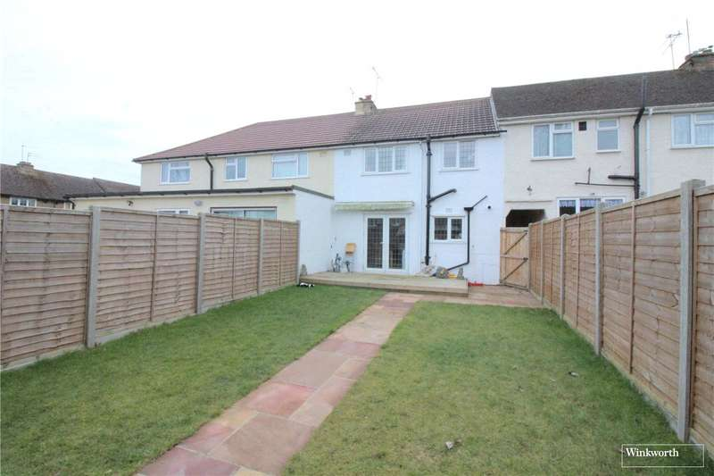 3 Bedrooms Terraced House for sale in Harvey Road, London Colney, St. Albans, Hertfordshire, AL2