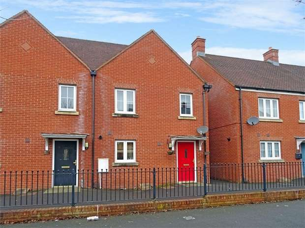 2 Bedrooms End Of Terrace House for sale in Queen Elizabeth Drive, Swindon, Wiltshire