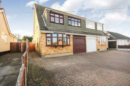 4 Bedrooms Semi Detached House for sale in Bowers Gifford, Basildon, Essex