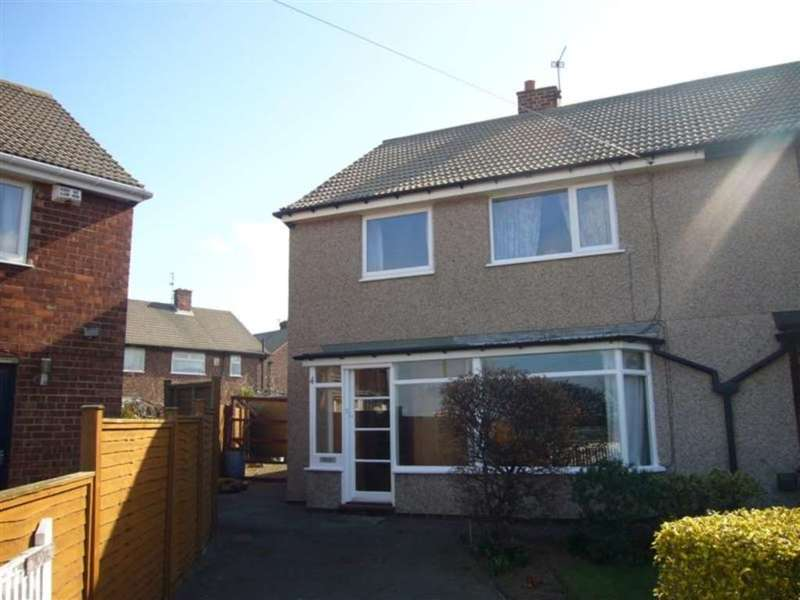 3 Bedrooms Semi Detached House for rent in Fitzwilliam Close, Redcar