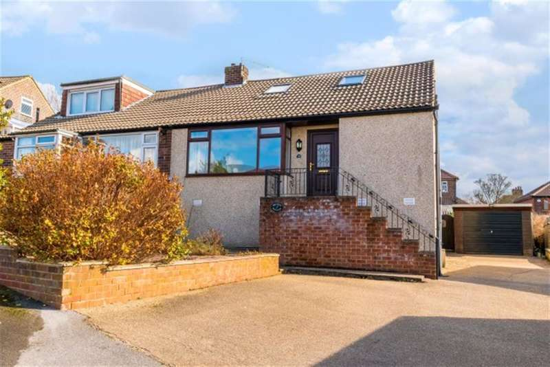 2 Bedrooms Semi Detached Bungalow for sale in Owlcotes Garth, Pudsey, West Yorkshire, LS28