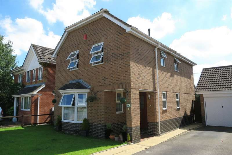 4 Bedrooms Detached House for sale in The Bluebells Bradley Stoke Bristol BS32