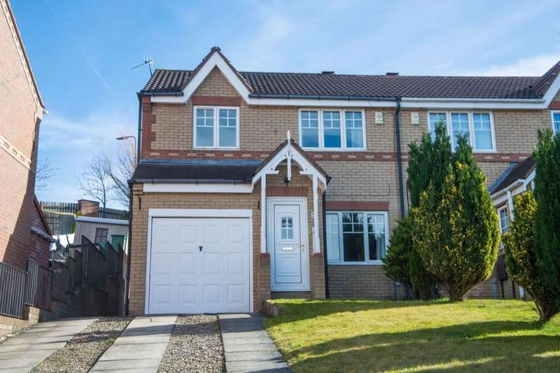3 Bedrooms Semi Detached House for sale in Morgans Way, Blaydon-On-Tyne, NE21