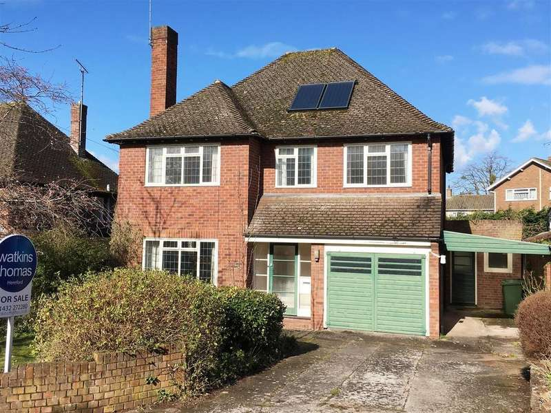 4 Bedrooms Detached House for sale in Elm Road, Off Southbank Road, Hereford, HR1