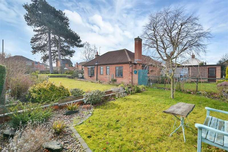2 Bedrooms Detached Bungalow for sale in Rufford Road, Edwinstowe