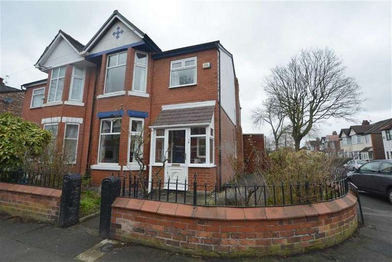 3 Bedrooms Semi Detached House for sale in Grange Ave, STRETFORD