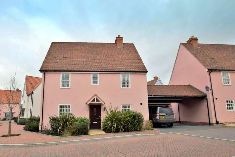 3 Bedrooms Link Detached House for sale in Tawneys Ride, Bures, CO8 5DB