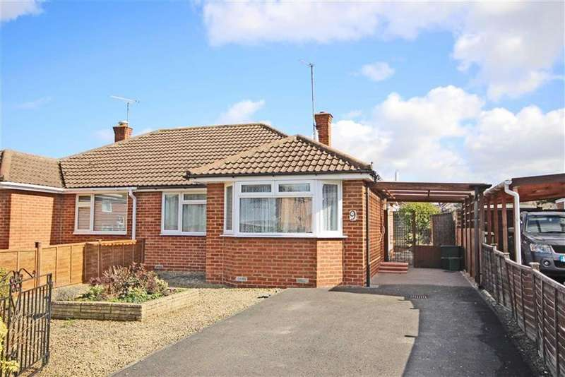2 Bedrooms Semi Detached Bungalow for sale in Lichfield Drive, Warden Hill, Cheltenham, GL51