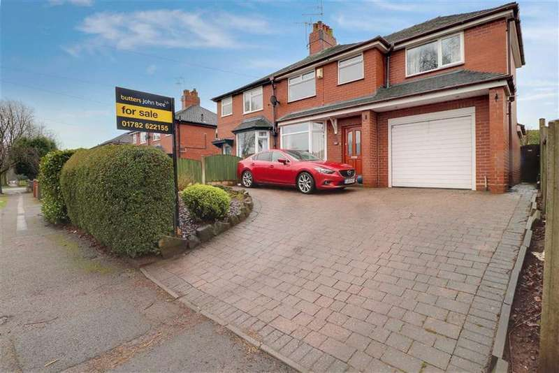 4 Bedrooms Semi Detached House for sale in Hassam Parade, Wolstanton, Newcastle-under-Lyme