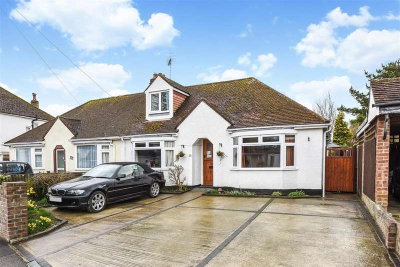 3 Bedrooms Semi Detached Bungalow for sale in Parklands Road, Chichester