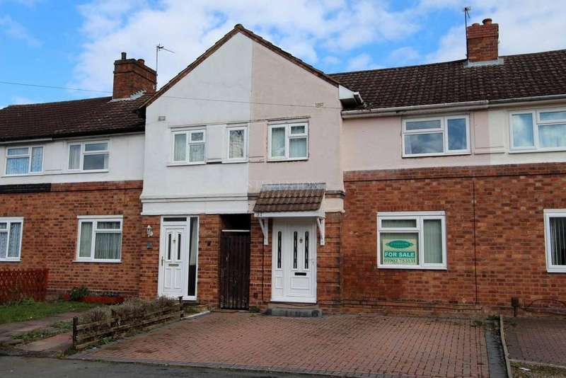 3 Bedrooms Terraced House for sale in Skidmore Avenue, Bradmore, Wolverhampton