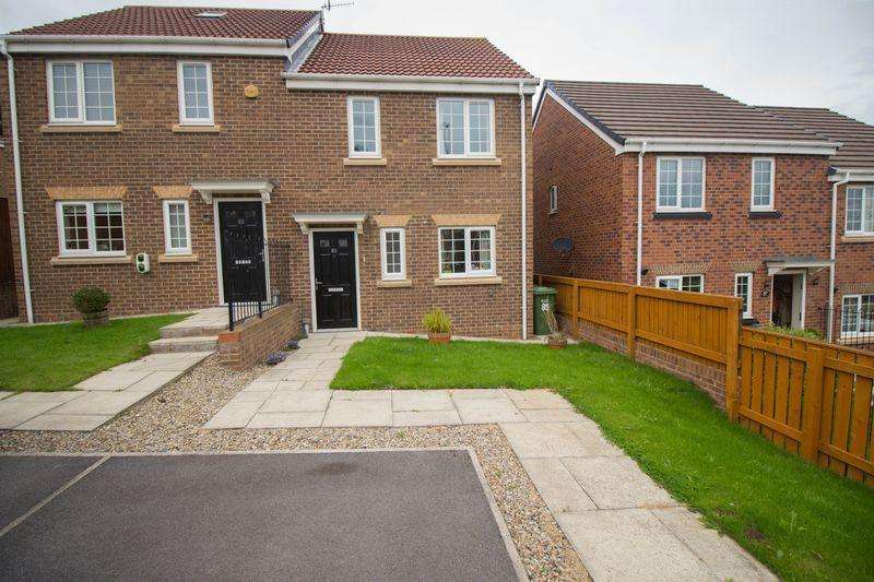 3 Bedrooms Semi Detached House for rent in Pickering Drive, Blaydon