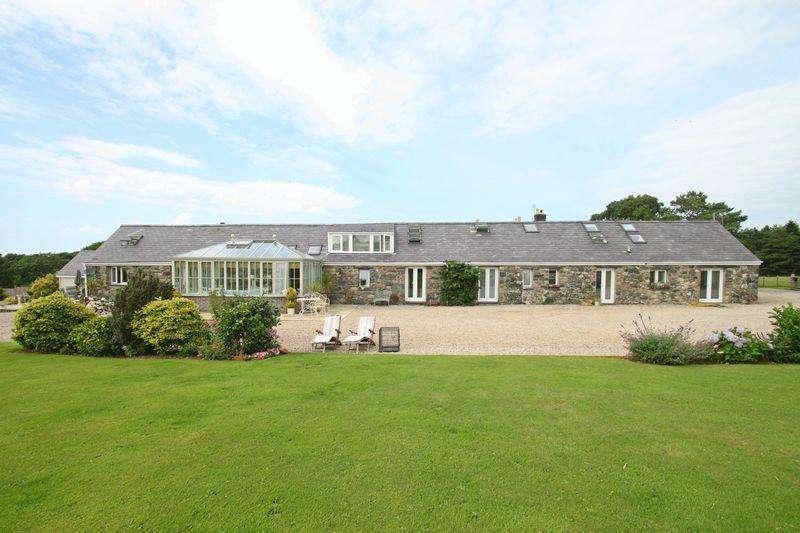 4 Bedrooms Barn Conversion Character Property for sale in Llandwrog, Gwynedd