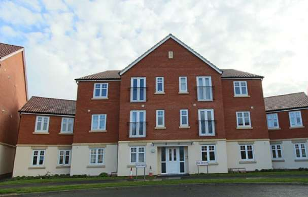 1 Bedroom Apartment Flat for rent in The Rushes, Tilia Way, BOURNE, PE10