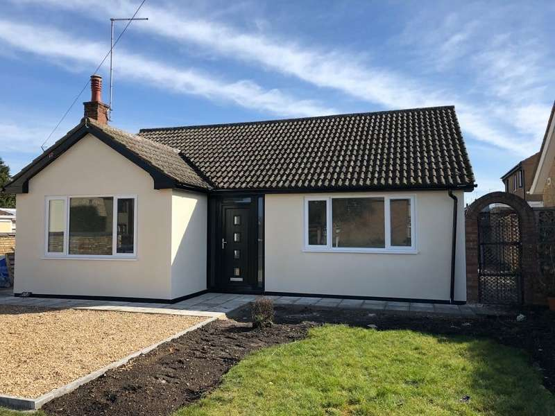 3 Bedrooms Detached Bungalow for sale in Cemetery Road, Whittlesey, Peterborough, Cambridgeshire. PE7 1SF