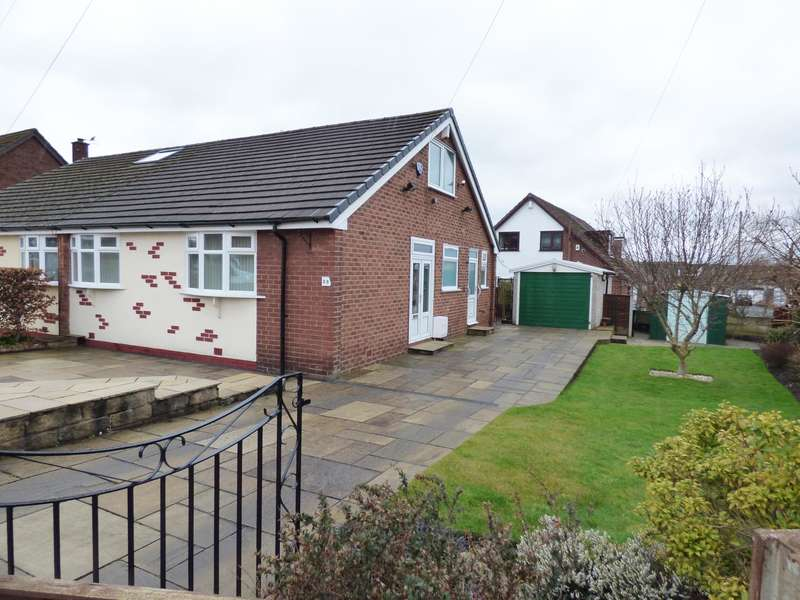 2 Bedrooms Semi Detached House for sale in Borth Avenue, Heaviley, Stockport, SK2