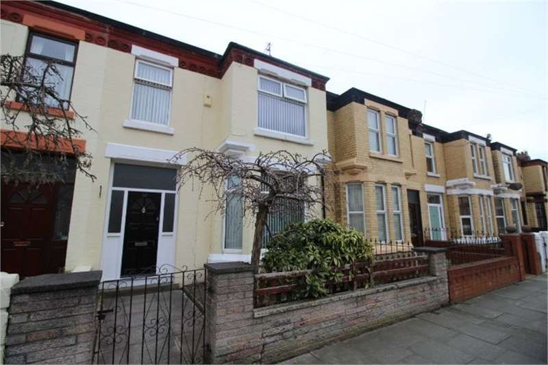 3 Bedrooms Terraced House for sale in Ferndale Road, Waterloo, LIVERPOOL, Merseyside