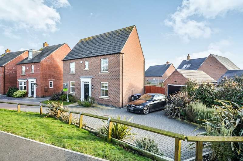 3 Bedrooms Detached House for sale in Fennel Close , Coton Park , Rugby