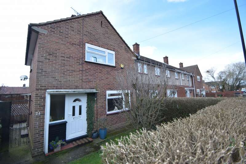 2 Bedrooms End Of Terrace House for sale in Thorndike, Slough, SL2