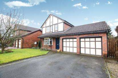 4 Bedrooms Detached House for sale in Sutherland Drive, Macclesfield, Cheshire