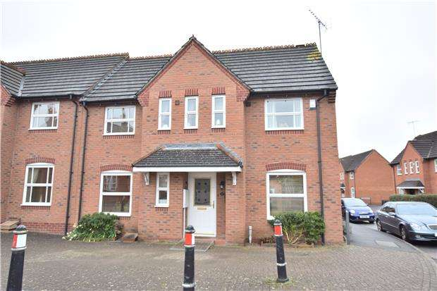 3 Bedrooms Semi Detached House for sale in Soren Larsen Way, Hempsted, GLOUCESTER, GL2 5DL
