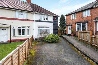 3 Bedrooms End Of Terrace House for sale in Selborne Grove, Billesley, Birmingham, West Midlands