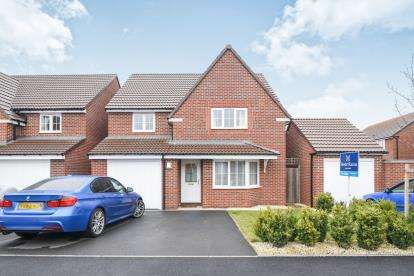 4 Bedrooms Detached House for sale in Codling Road, Evesham, Worcestershire