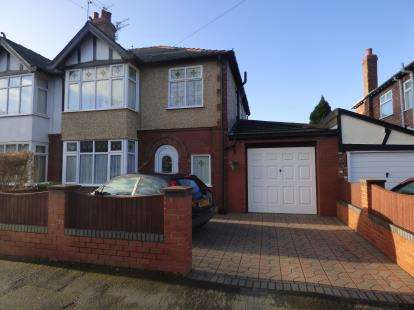 3 Bedrooms Semi Detached House for sale in Moorland Avenue, Crosby, Liverpool, L23