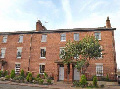 1 Bedroom Flat for sale in Mersey Terrace, Lower Mersey Street, Ellesmere Port, Cheshire, CH65