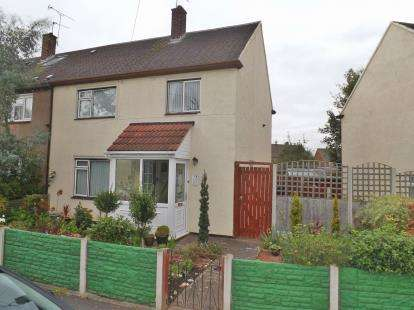 3 Bedrooms Semi Detached House for sale in Wilmslow Drive, Great Sutton, Ellesmere Port, CH66
