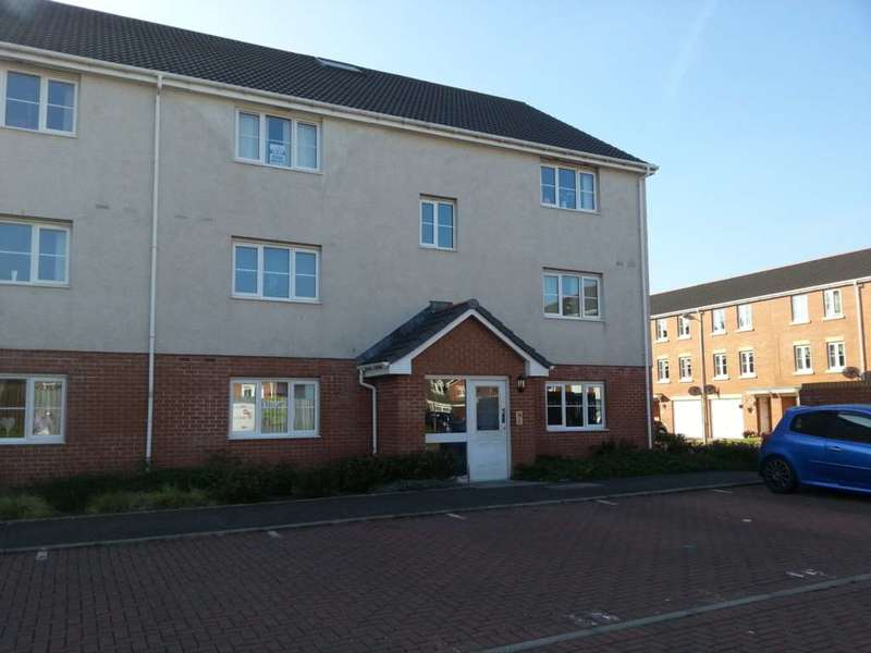 2 Bedrooms Flat for rent in Auchenkist Place, Kilwinning