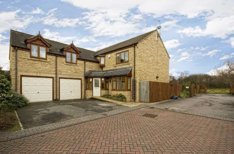 5 Bedrooms Detached House for sale in The Coppice, Cleckheaton