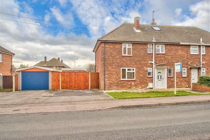 3 Bedrooms Semi Detached House for sale in Greycote, Shortstown, Bedford, MK42 0TU