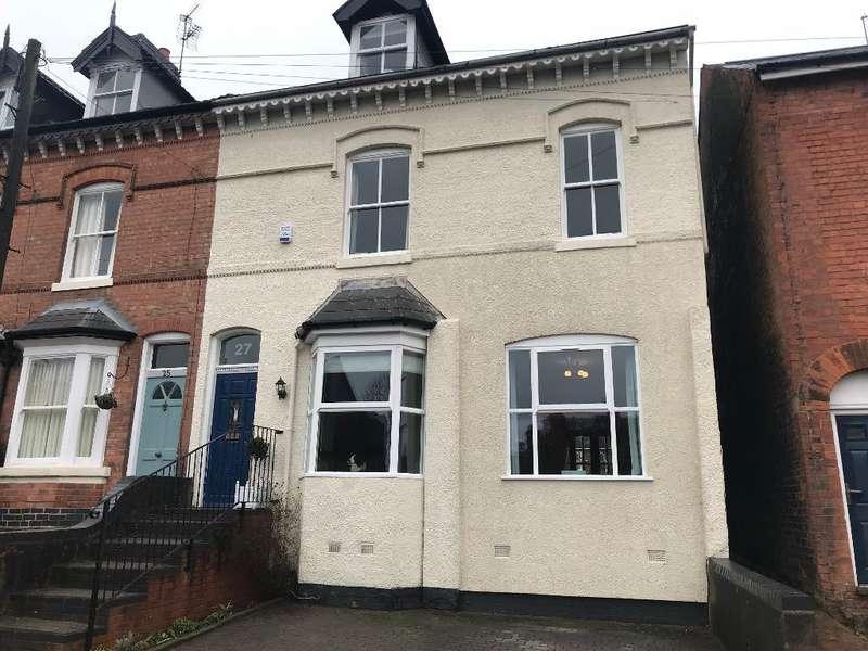 5 Bedrooms Mews House for sale in Ravenhurst Road, Harborne, Birmingham, B17 9TB