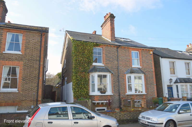 3 Bedrooms Semi Detached House for sale in Lesbourne Road, Reigate