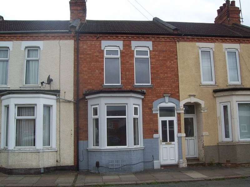 3 Bedrooms Terraced House for rent in Wycliffe Road, Northampton, NN1 5JQ