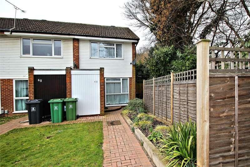 2 Bedrooms End Of Terrace House for sale in Bishops Wood, Woking, Surrey, GU21