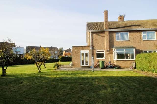 3 Bedrooms Semi Detached House for sale in Birkdale Road, Hartburn, TS18 5LZ