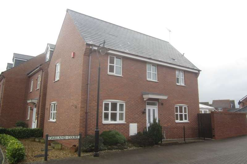 3 Bedrooms Detached House for sale in Oaklands Court, Weston, Crewe, CW2