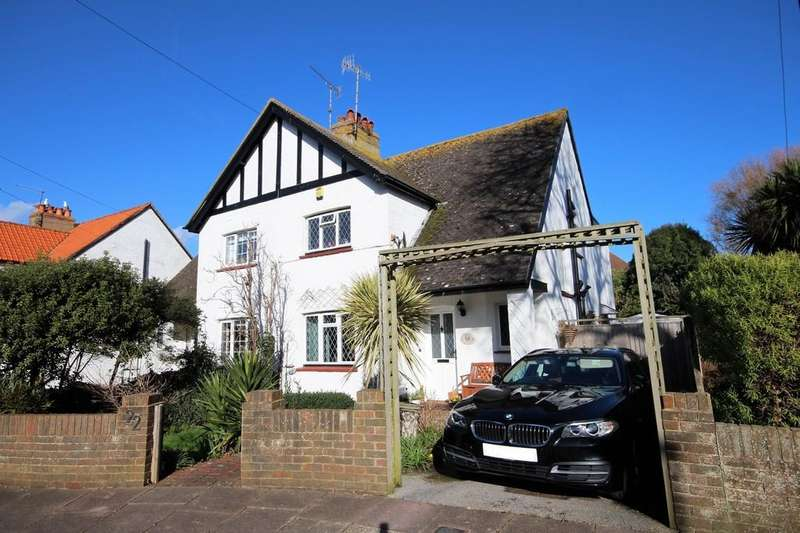 3 Bedrooms Semi Detached House for sale in Courtlands Close, Goring-by-sea BN12 4BT